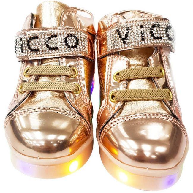 Vicco 220.V.150 Girl Light up Shoes - Gold