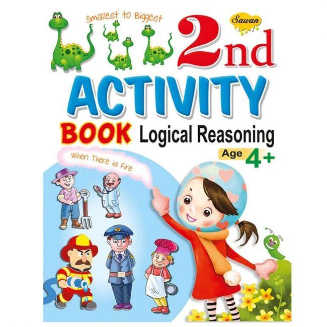 Sawan 2nd Activity Book Logical Reasoning 4+ Children's Book