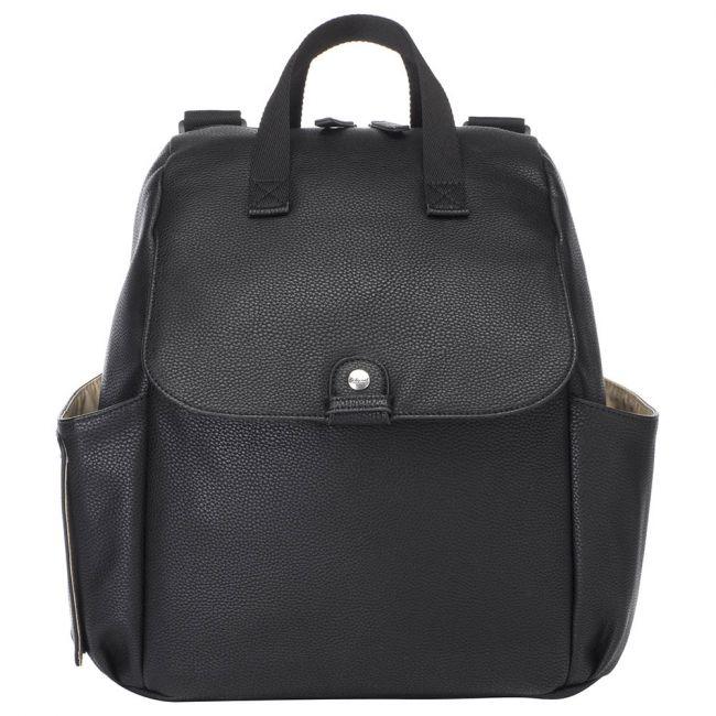 Babymel - Robyn Convertible Diaper Bag Vegan Leather - Black