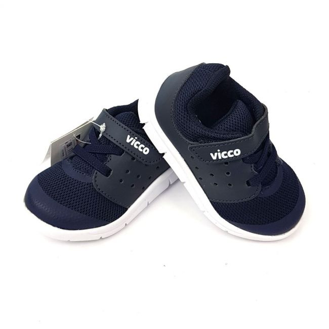 Vicco Lace Sport Shoes for Boys - Navy