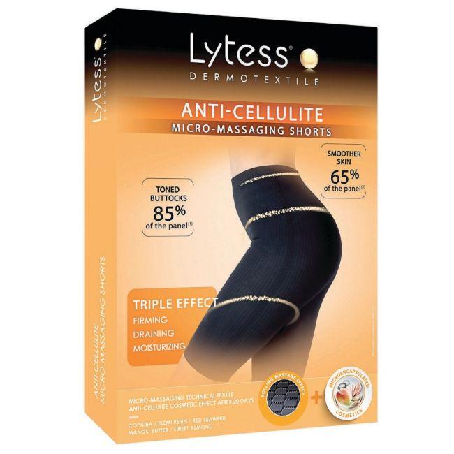 Lytess - Anti-Cellulite Micro - Massaging Shorts - Black