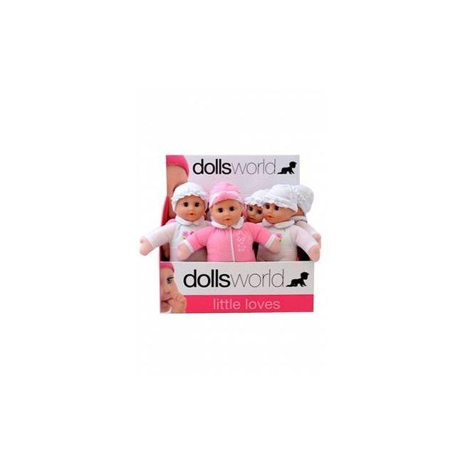 Dollsworld Softly Baby Doll Set -2 Asst
