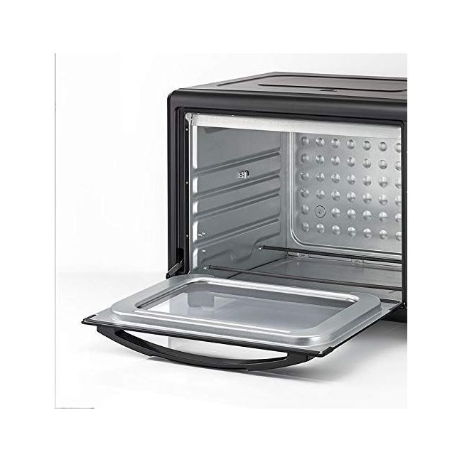 Black & Decker Double Glass Toaster Oven with Rotisserie, Black, 55 litres, Tro55Rdg-B5