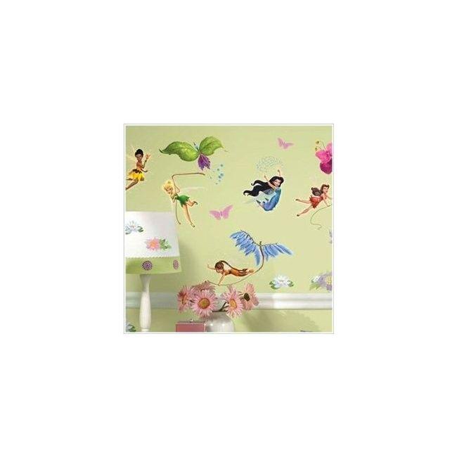RoomMates Disney Fairies Peel & Stick Wall Decals