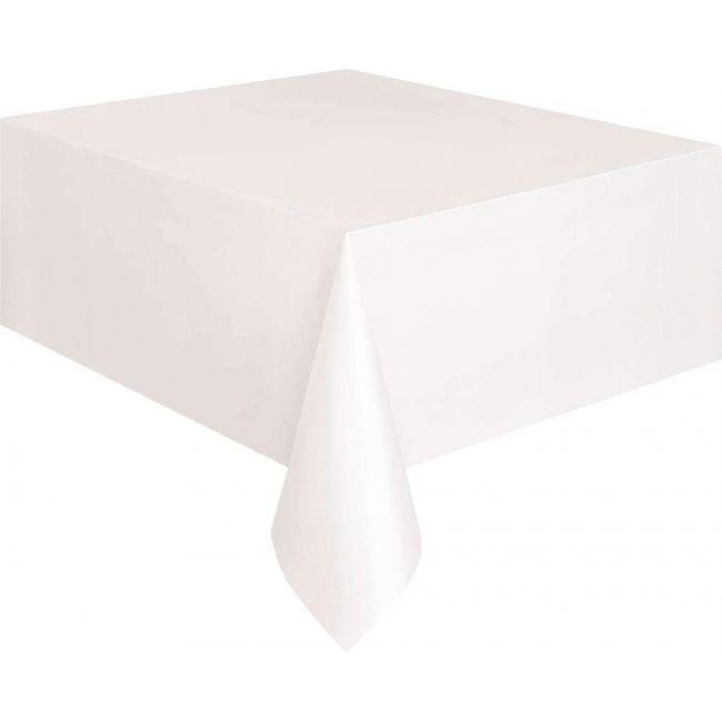 Unique Large White Plastic Table Cover