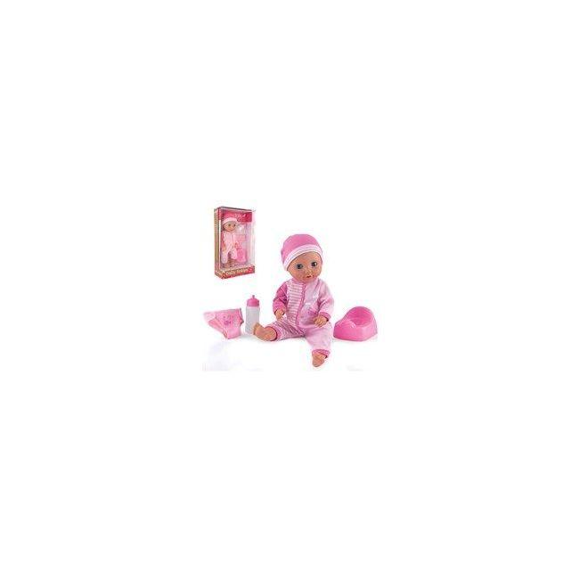 """Dollsworld Pink Baby Tinkles 38cm (15"""") Doll"""