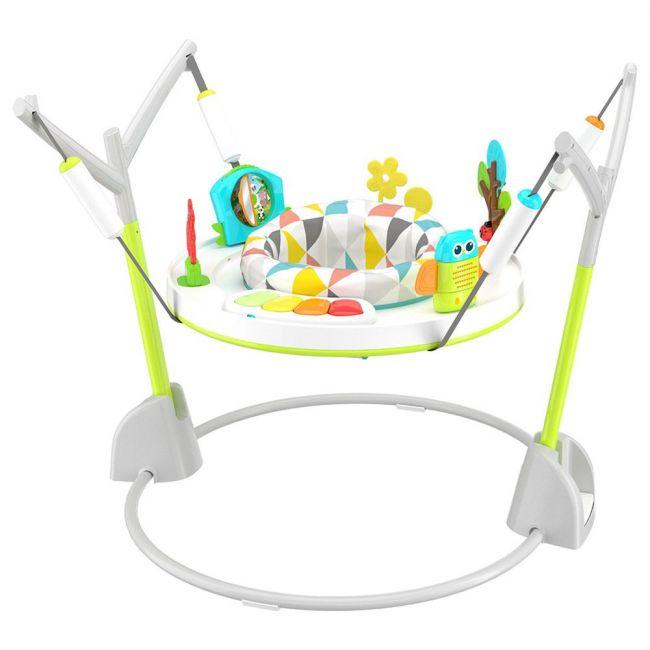 Mini Panda - Foldaway Activity Baby Jumper, Lime