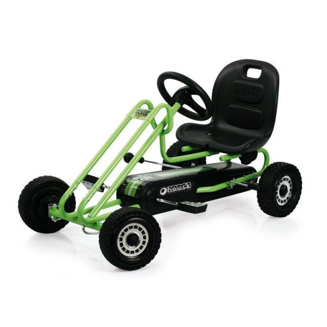 Hauck Race Green Lightning Go Cart