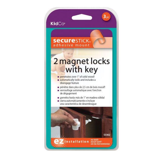KidCo Child Safety Adhesive Mount Magnet Lock-Starter Set