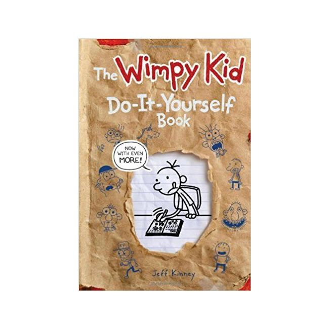 Diary Of A Wimpy Kid Do-It-Yourself Activity Book