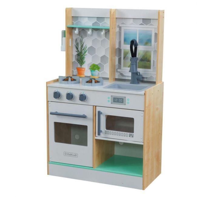 Kidkraft Let's Cook Play Kitchen - Natural