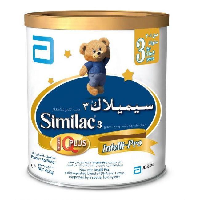 Similac 3 Growing Up Formula Milk 400G - 1-3 Years