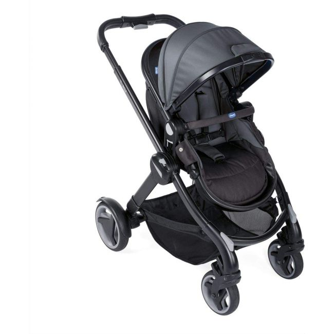 Chicco Fully Single Convertible 2-in-1 Stroller 0m-3y, Stone