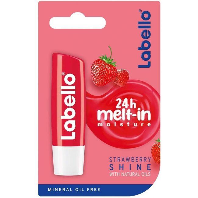 Labello - Lip Balm 4.8g - Strawberry Shine