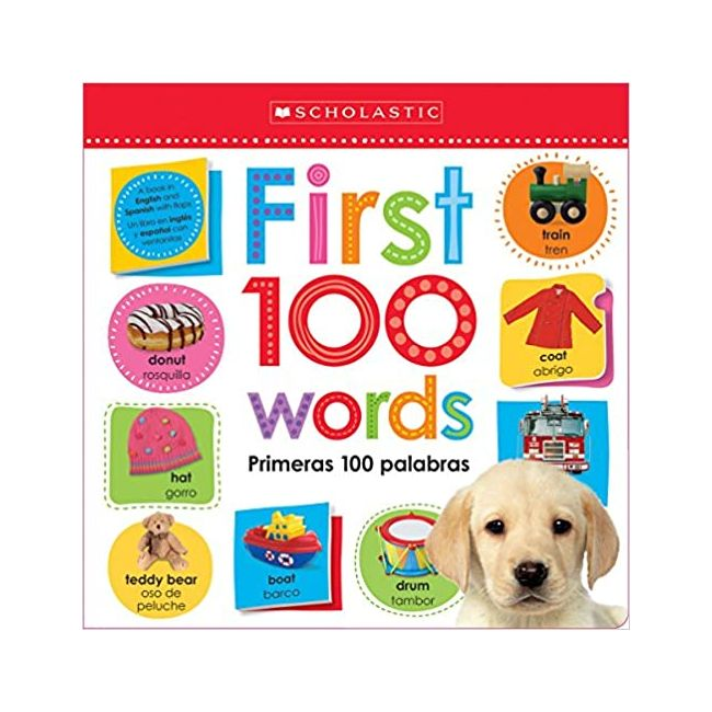 Lift-The Flap First 100 Words- Kids Book