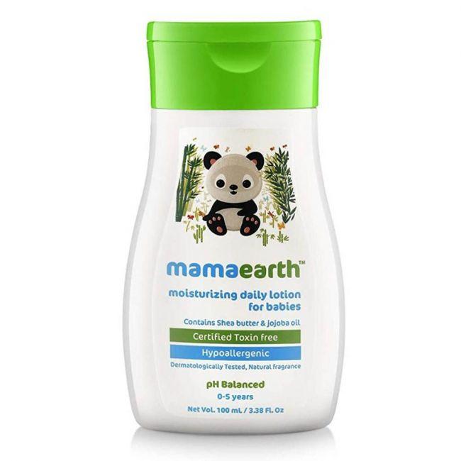 Mama Earth - Moisturizing Daily Lotion For Babies 100 Ml