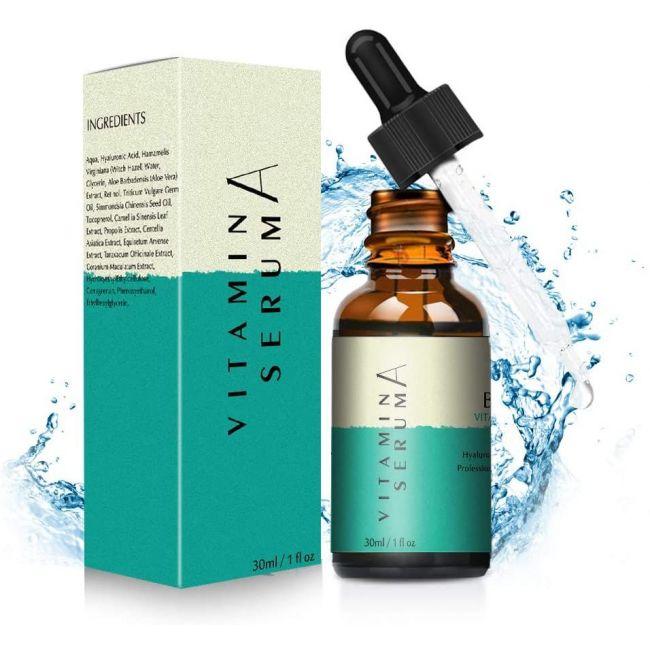 VcVitamin A Hyaluronic Acid Anti Aging Serum - 30ml