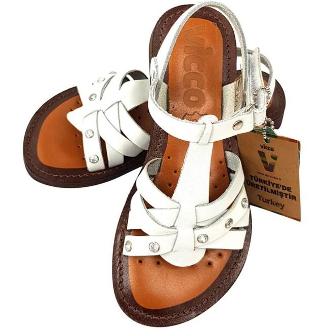 Vicco 625.18Y.350 Girl Sandal - White