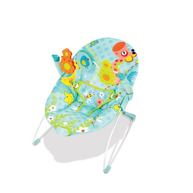 Little Angel - Baby Bouncer Blue