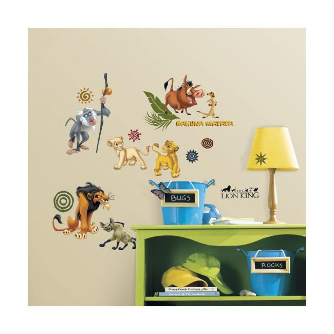 Room Mates The Lion King Wall Decal