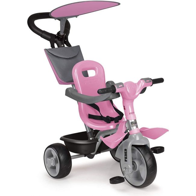 Feber - Trike Baby Plus Music - Pink
