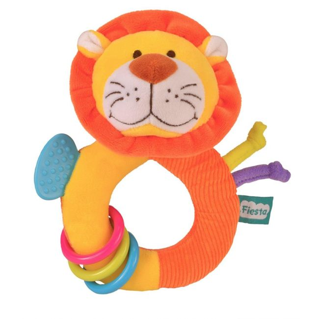 Fiesta Crafts Ringaling Lion Soft Toy