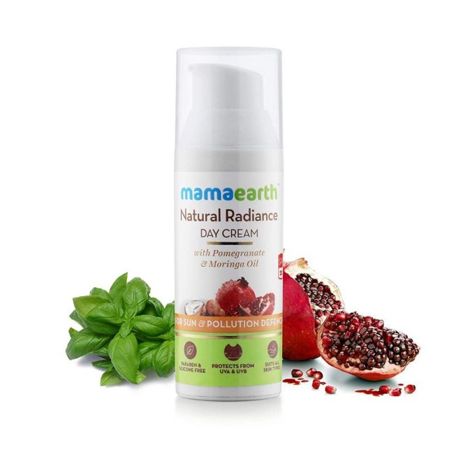 Mama Earth - Natural Radiance Day Cream 50 Ml