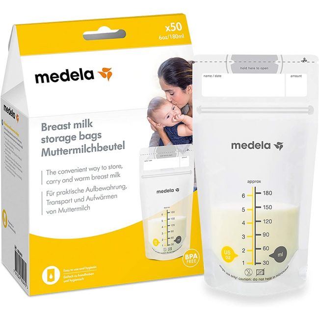 Medela - Breastmilk Storage Bags - 50 pcs