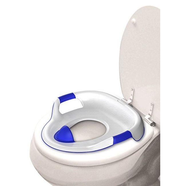 The First Years White Soft Grip Toilet Trainer Seat