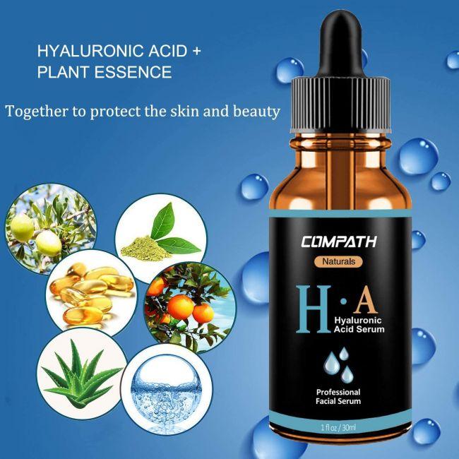 Compath Naturals Hyaluronic Acid Serum - 30ml