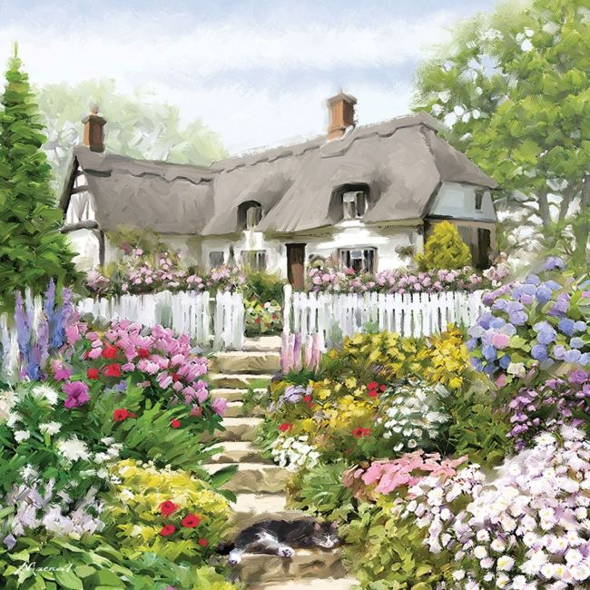 Otter House - Jigsaw Square - Country Cottage (P)