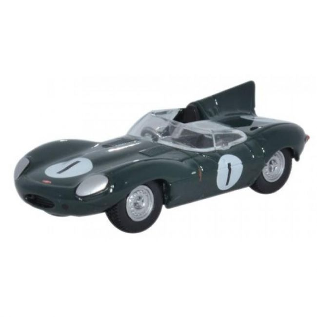 Oxford Diecast Jaguar D Type Toy Car