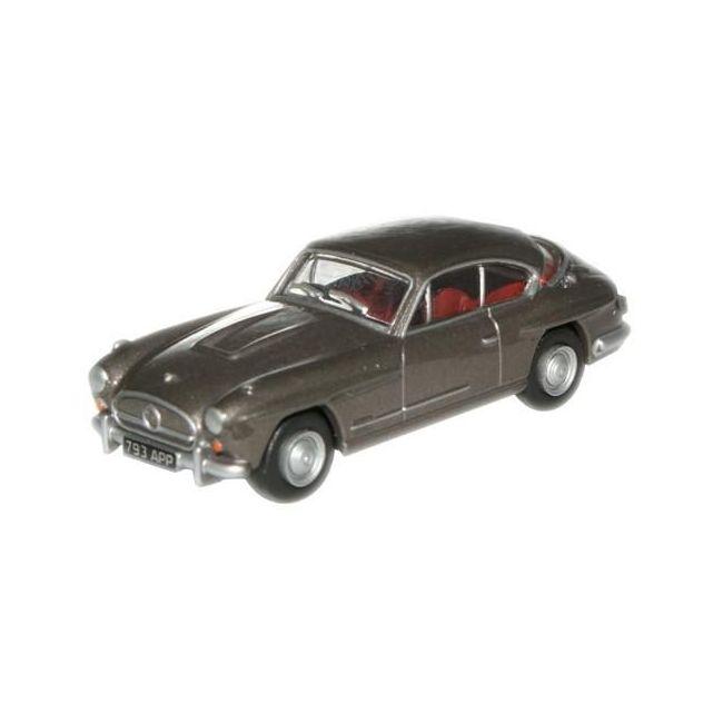 Oxford Diecast Gunmetal Jensen 541R Toy Car