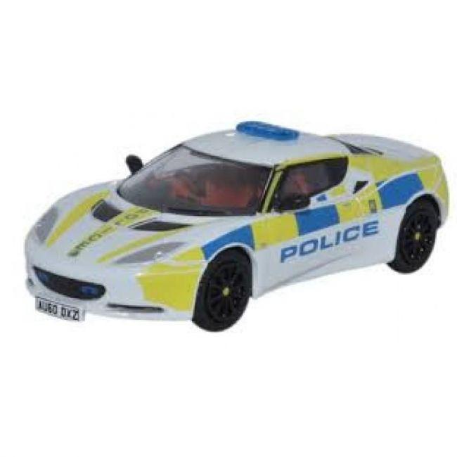 Oxford Diecast Lotus Evora Central Motorway Patrol Group Toy Car