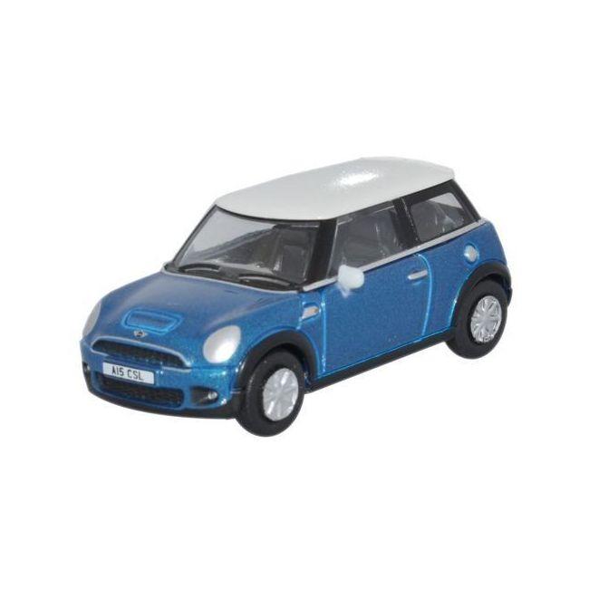 Oxford Diecast Mini Laser Blue Toy Car