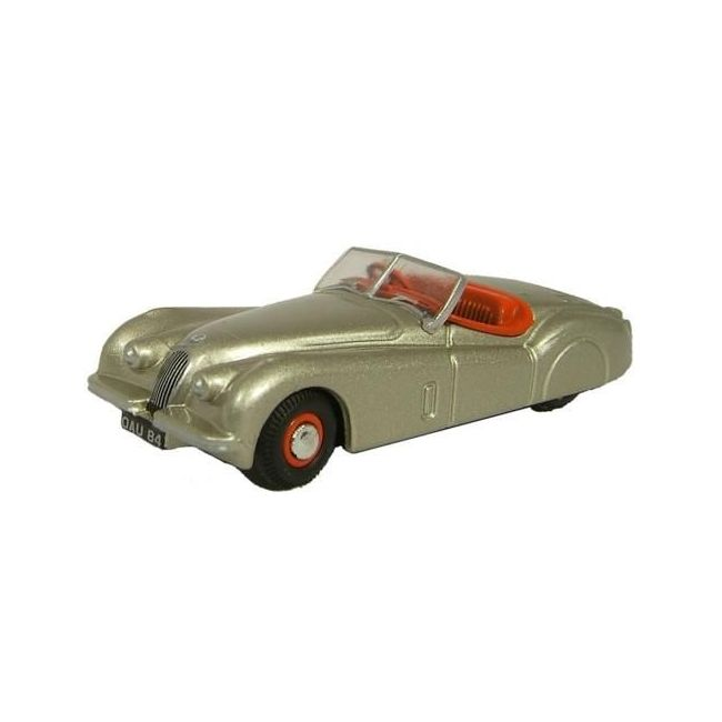Oxford Diecast XKJ120 Jaguar Bronze Toy Car