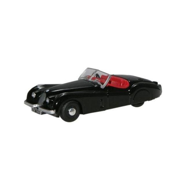 Oxford Diecast XK120 Black Toy Car