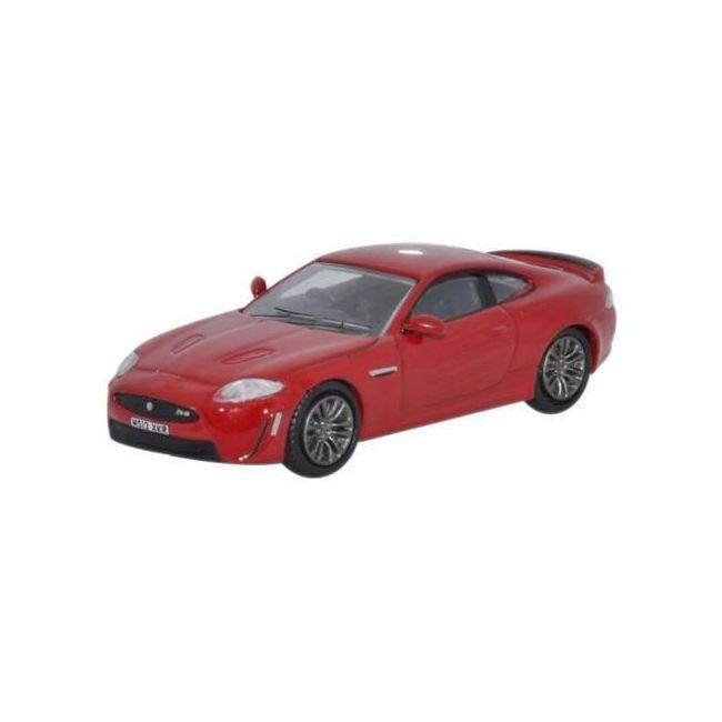 Oxford Diecast Jaguar XKRS Italian Racing Red Toy Car
