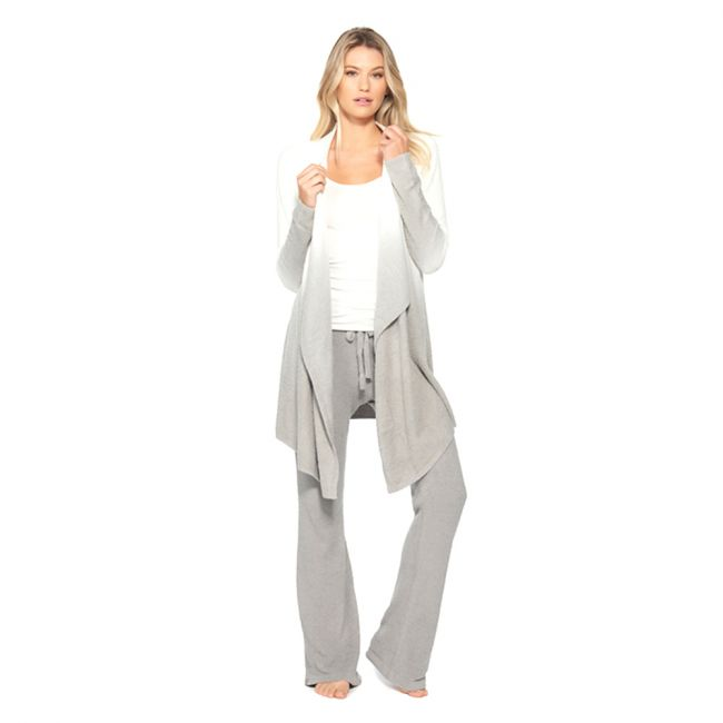 Barefoot Dreams - Calypso Wrap Ombre Pewter/Pearl - S/M