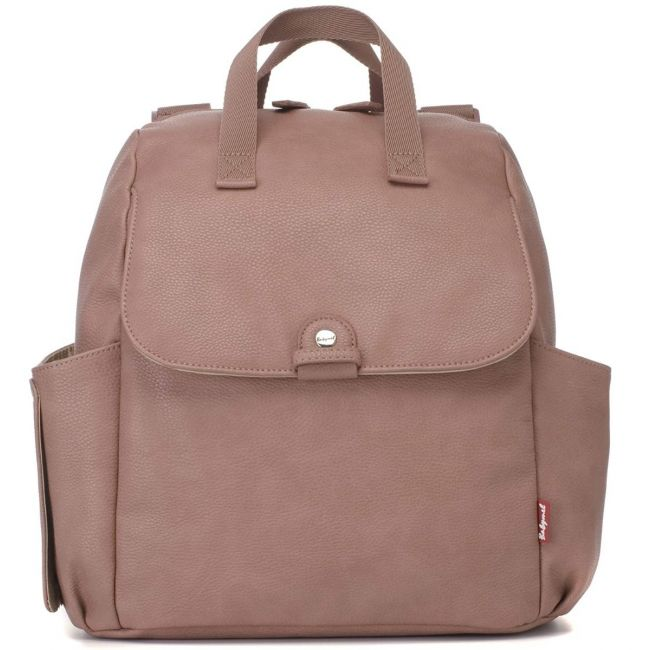 Babymel - Robyn Convertible Diaper Bag Vegan Leather - Dusty Pink