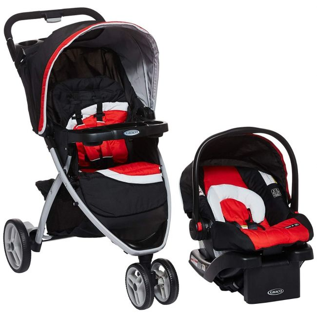 Graco - Pace Click Connect Travel System Spice