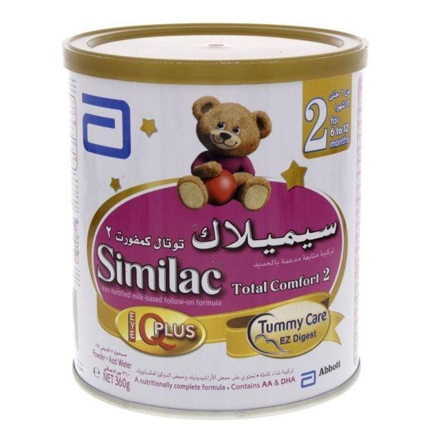 Similac Total Comfort 2 Follow On Formula Milkm 360G 6-12 Months