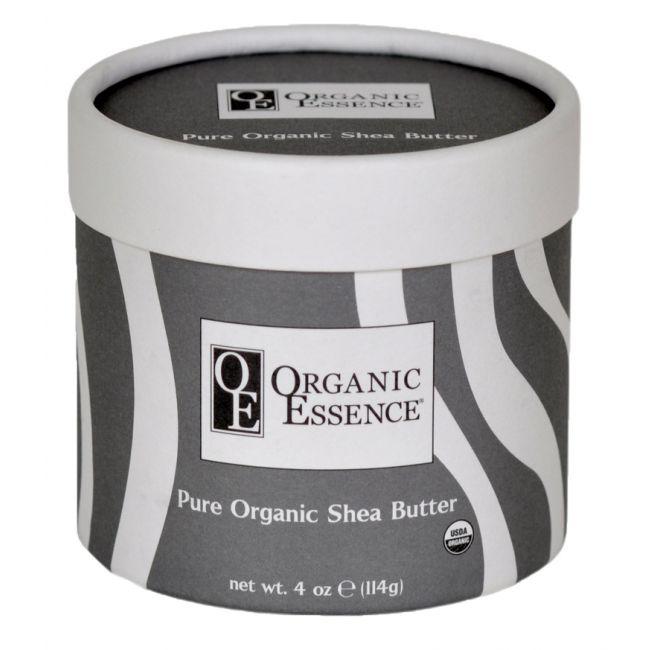 Organic Essence Pure Organic Shea Butter, 4oz, 114g