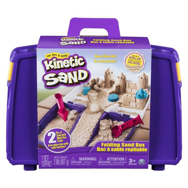 Kinetic Sand - Folding Sandbox - 2lb