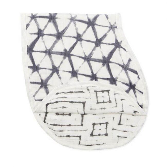 Aden + Anais - Silky Soft Burpy Bib Pebble Shibori