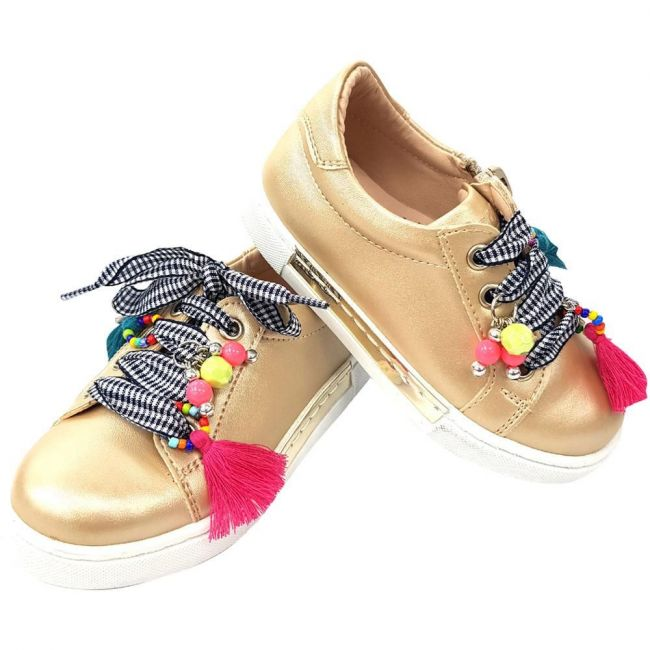 Vicco 968.19Y.365 Girl Sport Shoes - Gold