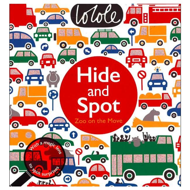 Hide and Spot: Zoo on the Move Activity Book