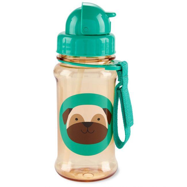 SkipHop - Zoo Straw Bottle - Pug