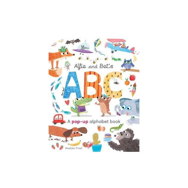 Alfie And Bet's Abc: A Pop-Up Alphabet Book