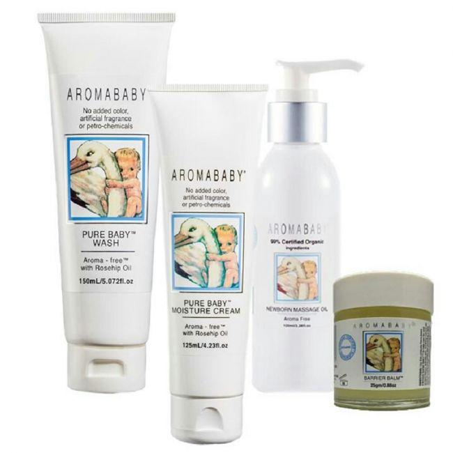 Aromababy Newborn Naturals Precious Skin Package
